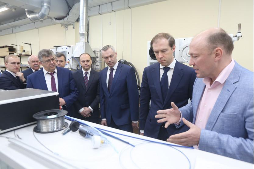 Министр индустрии РФвысоко оценил развитие медицинского кластера вНовосибирской области