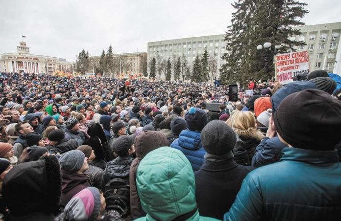 Миниатюра для: Суд разрешил провести в Кемерове митинг против Амана Тулеева