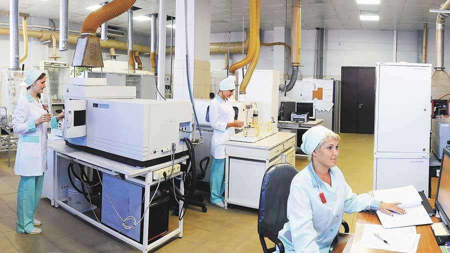 Лаборатория охраны окружающей среды Новосибирского завода химконцентратов