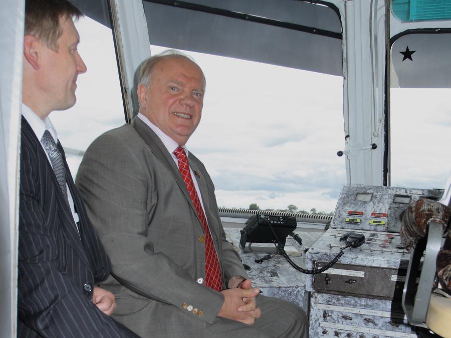 Необходимо поддержать Анатолия Локтя навыборах губернатора Новосибирской области— Геннадий Зюганов