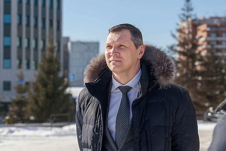 Депутат совета депутатов Новосибирска МИХАИЛ АНСИМОВ