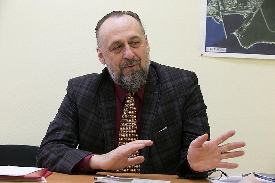 Советник мэра Новосибирска АЛЕКСАНДР ЛОЖКИН
