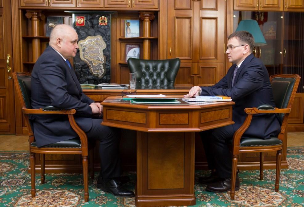 Руководитель Ленинск-Кузнецкого района ушел вотставку и будет заместителем губернатора