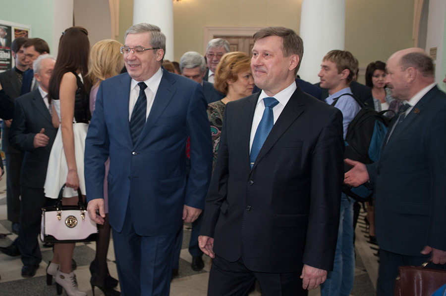 Виктор Толоконский и Анатолий Локоть