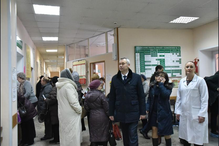 Врио губернатора региона остался недоволен очередями вполиклиниках