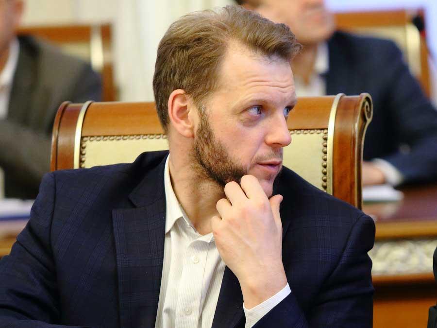 руководитель ГЖИ НСО Евгений Пономарёв