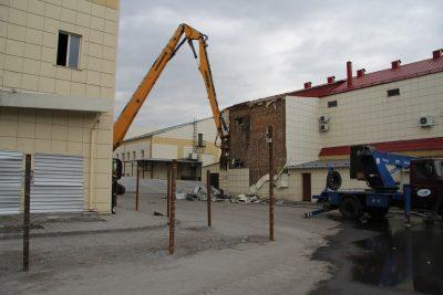 Миниатюра для: В Кемерове начался снос торгового центра «Зимняя вишня»