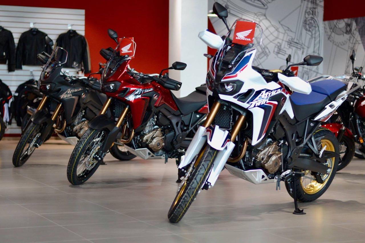 Honda проводит большой тест-райд новых мотоциклов в Новосибирске - Фотография