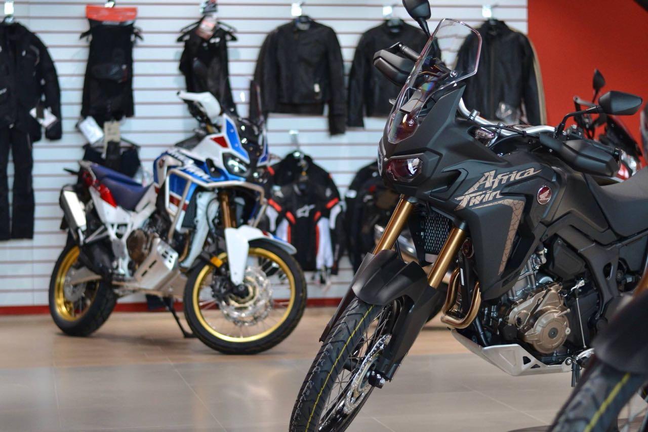 Honda проводит большой тест-райд новых мотоциклов в Новосибирске - Картинка