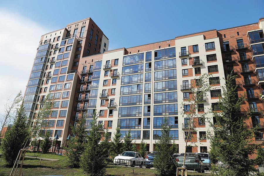 Элитный жилой комплекс на Потанинской