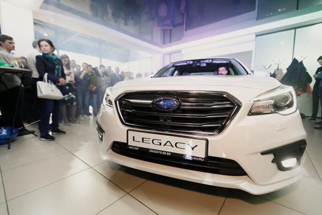 Subaru Legacy и Outback: новые «горячие» новинки в дилерском центре «ФАСТАР» - Фотография