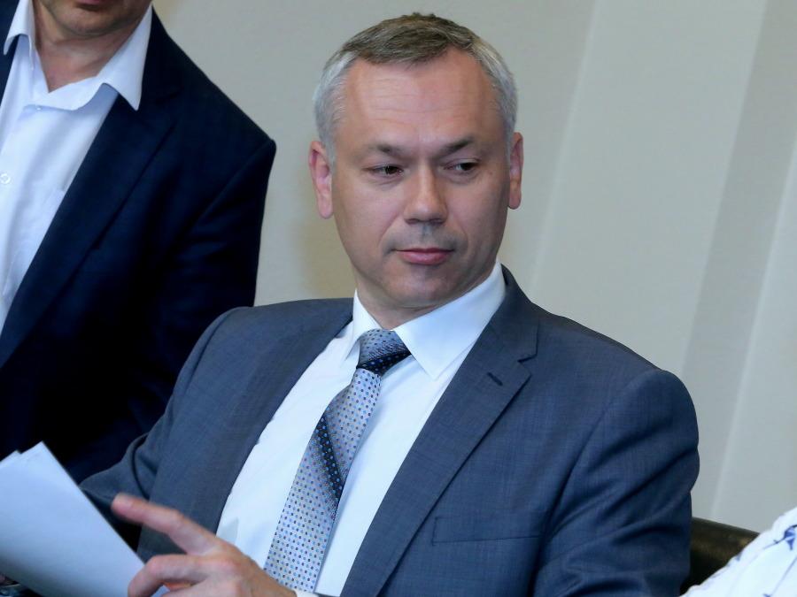 Руководство  Новосибирской области отправлено вотставку