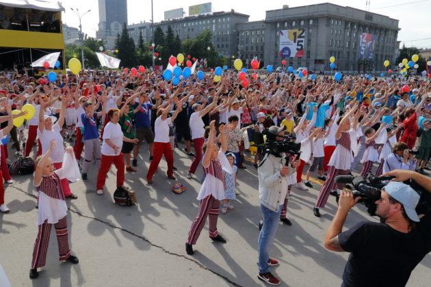 Век с четвертью! Новосибирск масштабно отпраздновал день города - Фото
