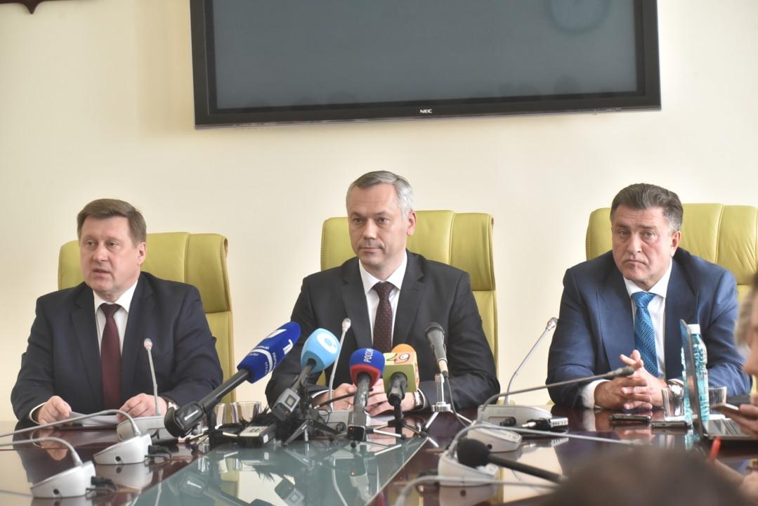 Анатолий Локоть сделал заявление по выборам губернатора Новосибирской области - Фотография