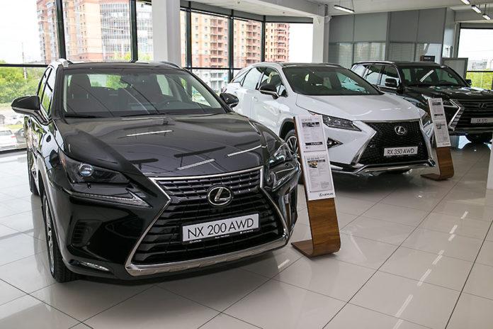 Упомолночоенный партнер Lexus в Новосибирске - ГК