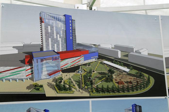 Миниатюра для: На базе гостиницы «Турист» в Новосибирске будет создан медицинский кластер, и арендаторы уже есть