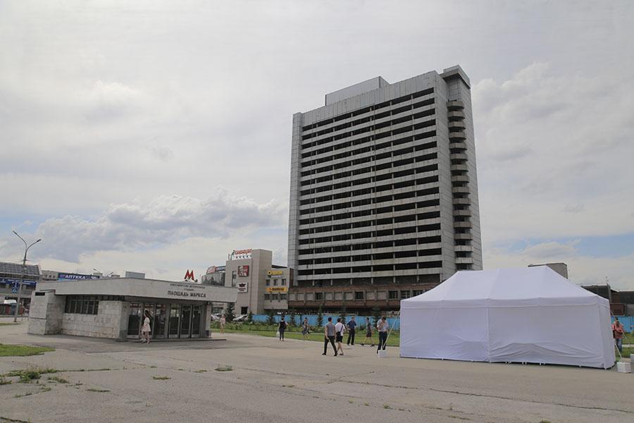 Новосибирская гостиница «Турист» будет достроена