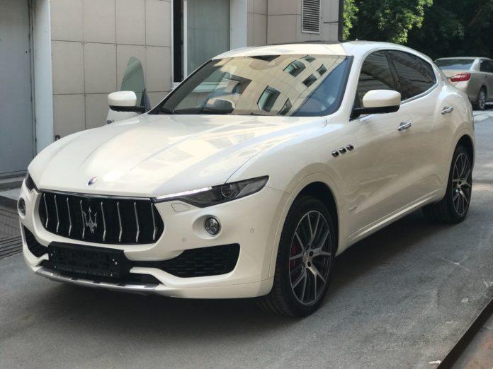 Миниатюра для: В Новосибирске продан внедорожник Maserati Levante за 10 млн рублей
