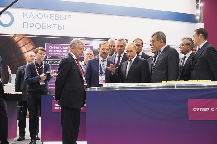 Путин на Технопроме