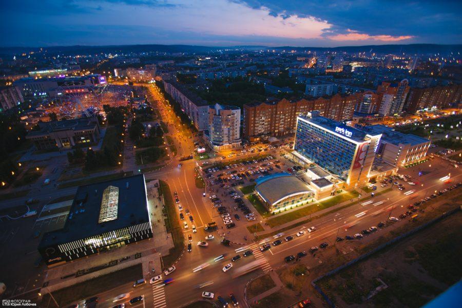 Панорама Новокузнецка