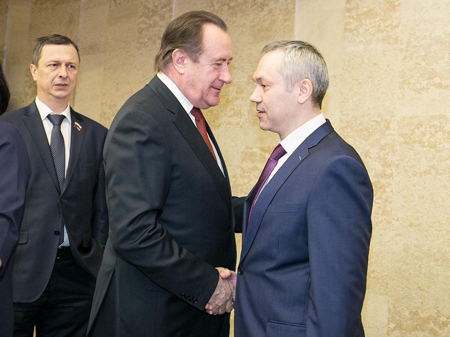 Иван Мороз и Андрей Травников