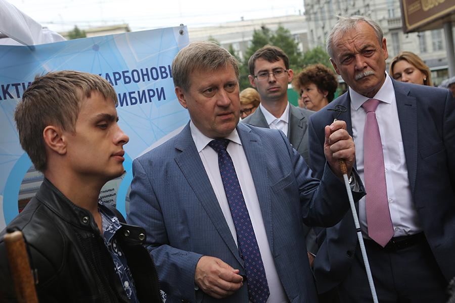 Анатолий Локоть: «Форум «Новосибирск — город безграничных возможностей» — это мозговой и нравственный штурм существующих проблем» - Фотография