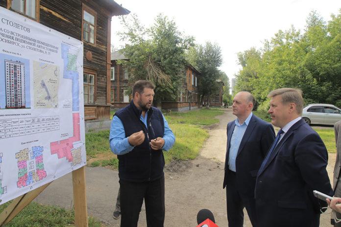 Развитие застроенных территорий Калининского района