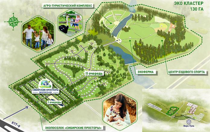 Миниатюра для: «Лидер Инвест Групп» намерена реализовать в Верх-Туле Новосибирского района масштабный инвестпроект за 13 млрд рублей