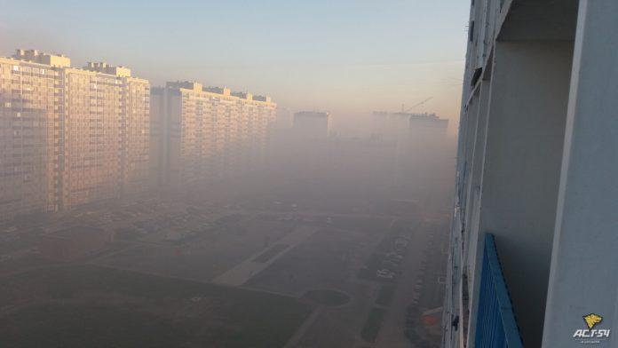 Миниатюра для: Вторые сутки горит мусорный полигон на левом берегу Новосибирска
