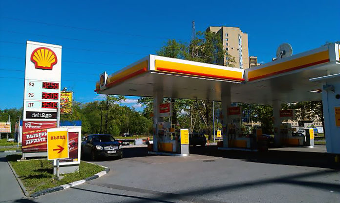 Сеть автозаправок Shell