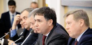 Дмитрий Асанцев и мэр Новосибирска Анатолий Локоть