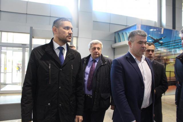Миниатюра для: Врио губернатора Забайкалья прибыл в регион первым утренним рейсом