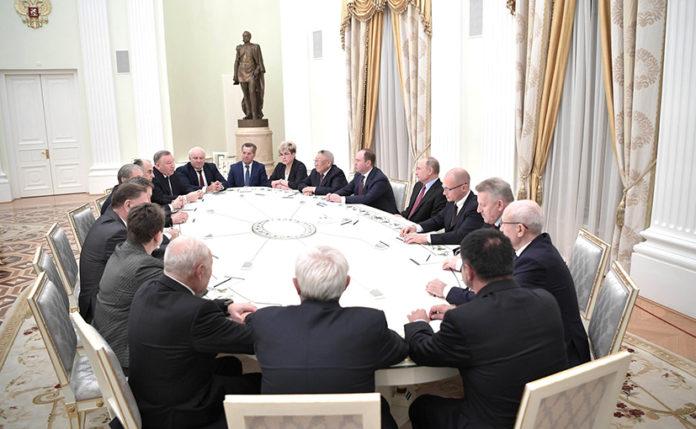 Миниатюра для: Владимир Путин предложил работу трем экс-губернаторам Сибирского федерального округа