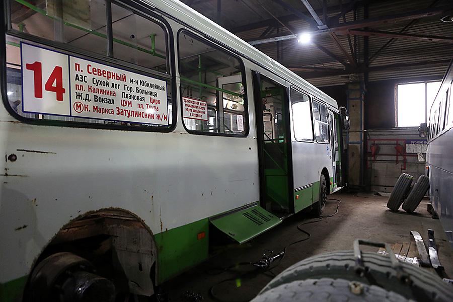 Общественный транспорт в ПАТП на 86% изношен