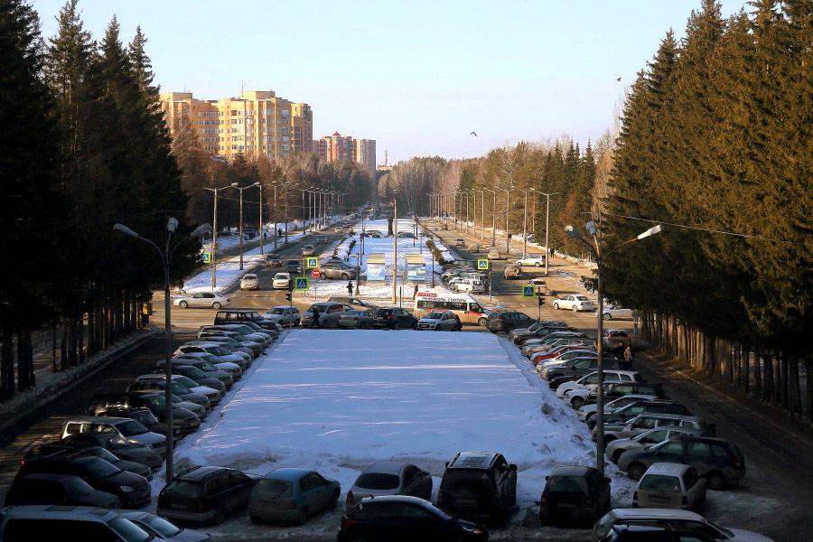 Проспект Академика Лаврентьева,