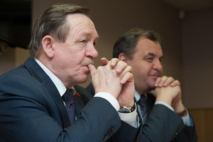 Владимир Карпов (слева) и Ренат Сулейманов