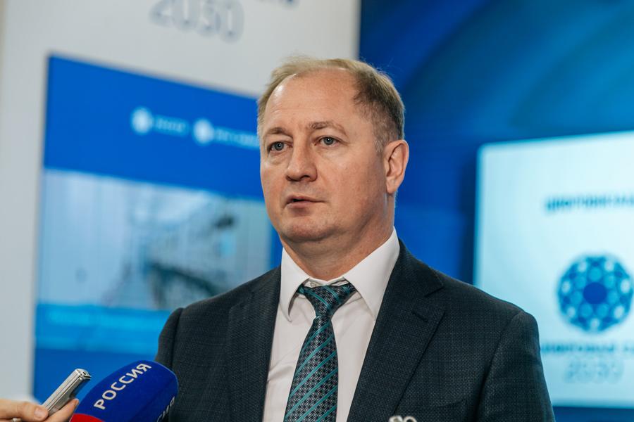 Генеральный директор ПАО «МРСК Сибири» Виталий Иванов