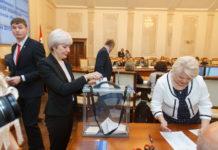 Новый состав Избирательной комиссии НСО избрал председателя
