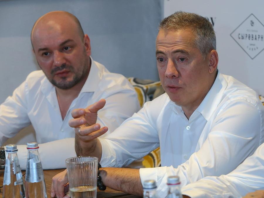 московский ресторатор Аркадий Новиков