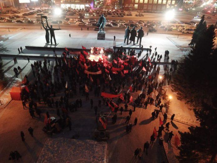Миниатюра для: Новосибирские коммунисты отметили 101-ю годовщину Октябрьской революции