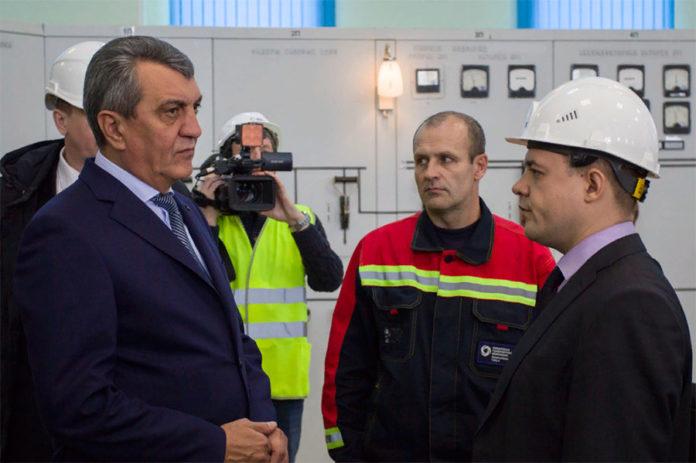 Сергей Меняйло побывал на Новосибирской ТЭЦ-4