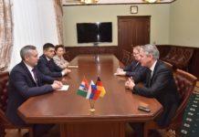 Андрей Травников встретился с Генеральным консулом Германии в Новосибирске