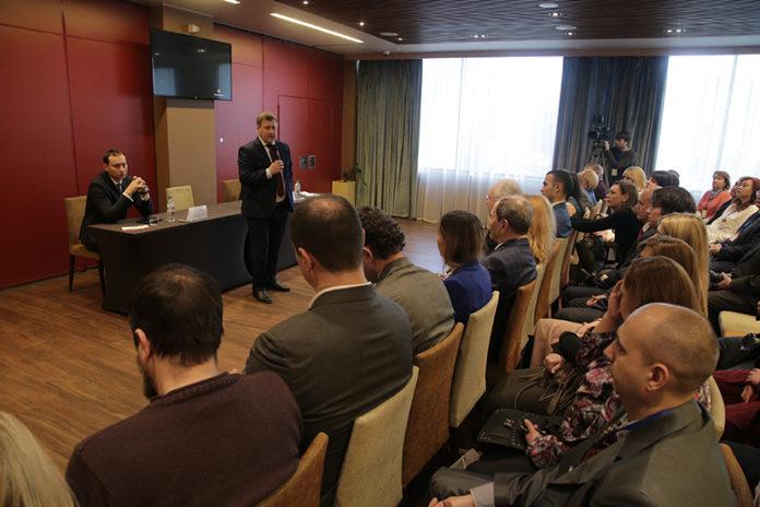 Миниатюра для: Мэр Новосибирска Анатолий Локоть выступил с инвестиционным посланием