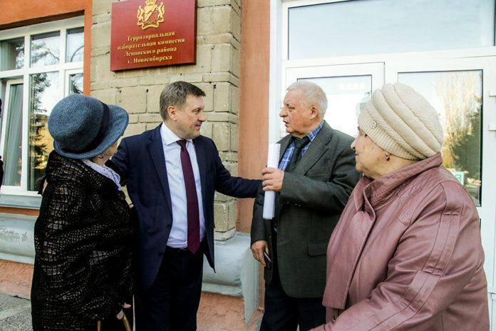 Мэр Новосибирска и ветераны обсудили планы по развитию города