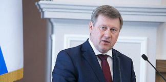 Поздравление мэра Новосибирска Анатолия Локтя с Новым годом!