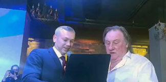 Жерар Депадье и Андрей Травников встретились в неформальной обстановке