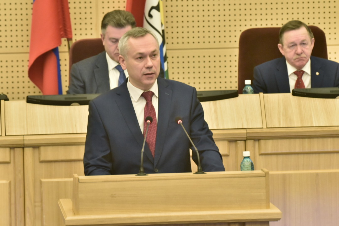 Андрей Травников: «Масштабная работа по реализации нацпроектов в Новосибирской области уже началась»