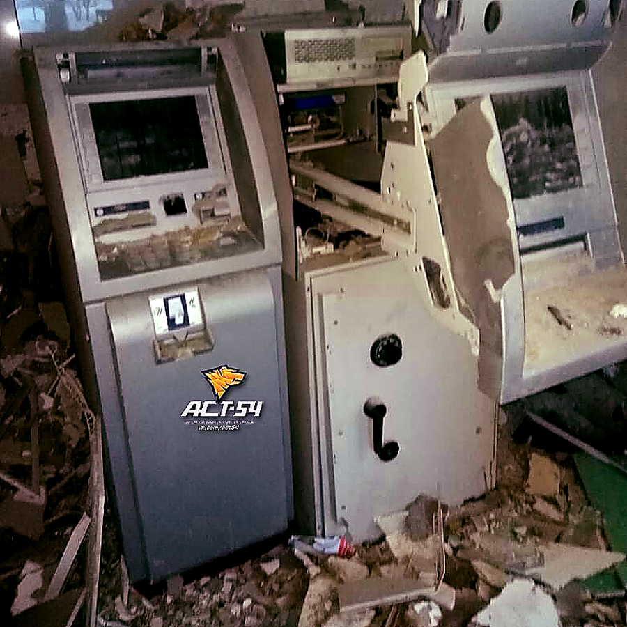 Утром прогремел взрыв в одном из отделений банка в Новосибирске