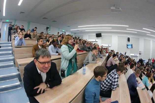 Михаил Котюков встретился с учащимися Новосибирского государственного университета