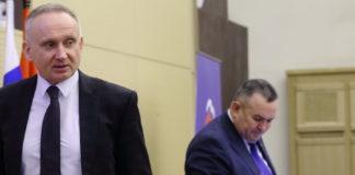 Андрей Панферов и Валерий Ильенко (слева направо)